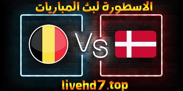 موعد وتفاصيل مباراة بلجيكا والدنمارك اليوم 17-06-2021 في يورو 2020