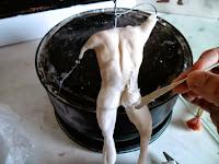 modelando porcelana fria