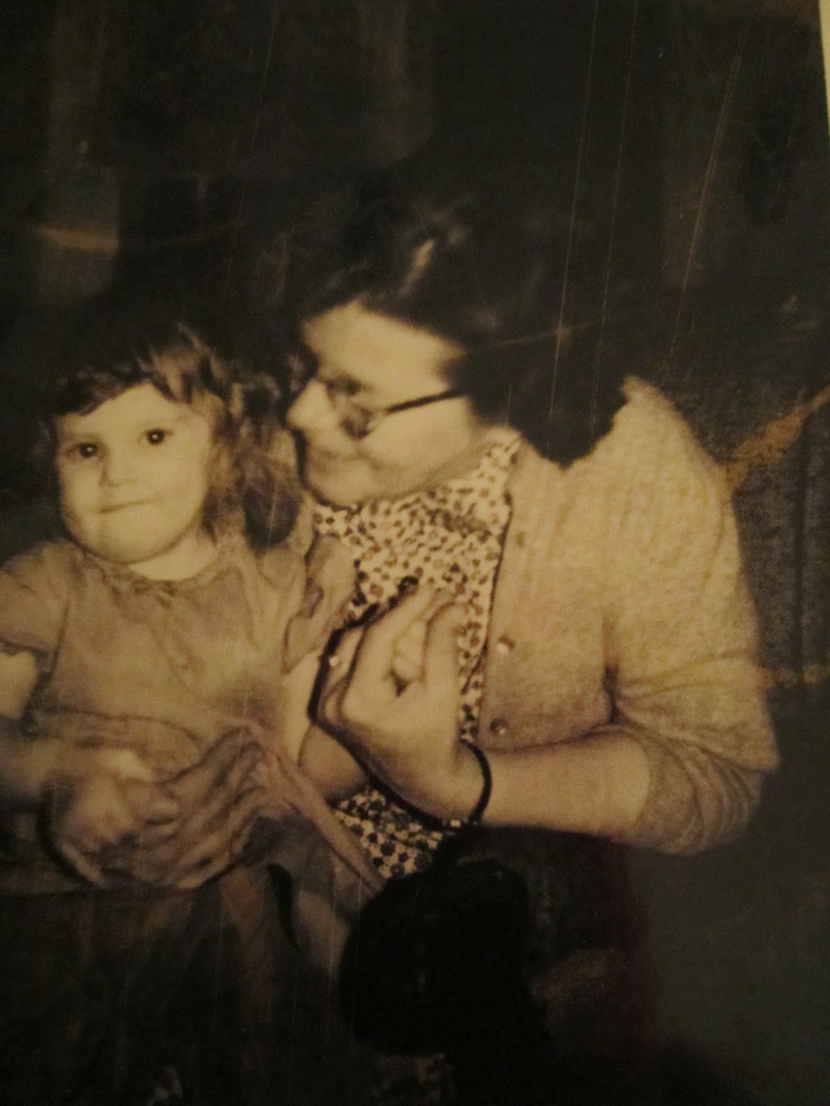 Climbing My Family Tree: Grandma Snyder (Mabel Lere Erwin Snyder) and me