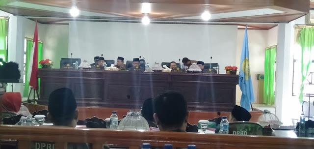 Rapat Paripurna DPRD Selayar, Terima Pertanggungjawaban Pelaksanaan APBD TA 2018