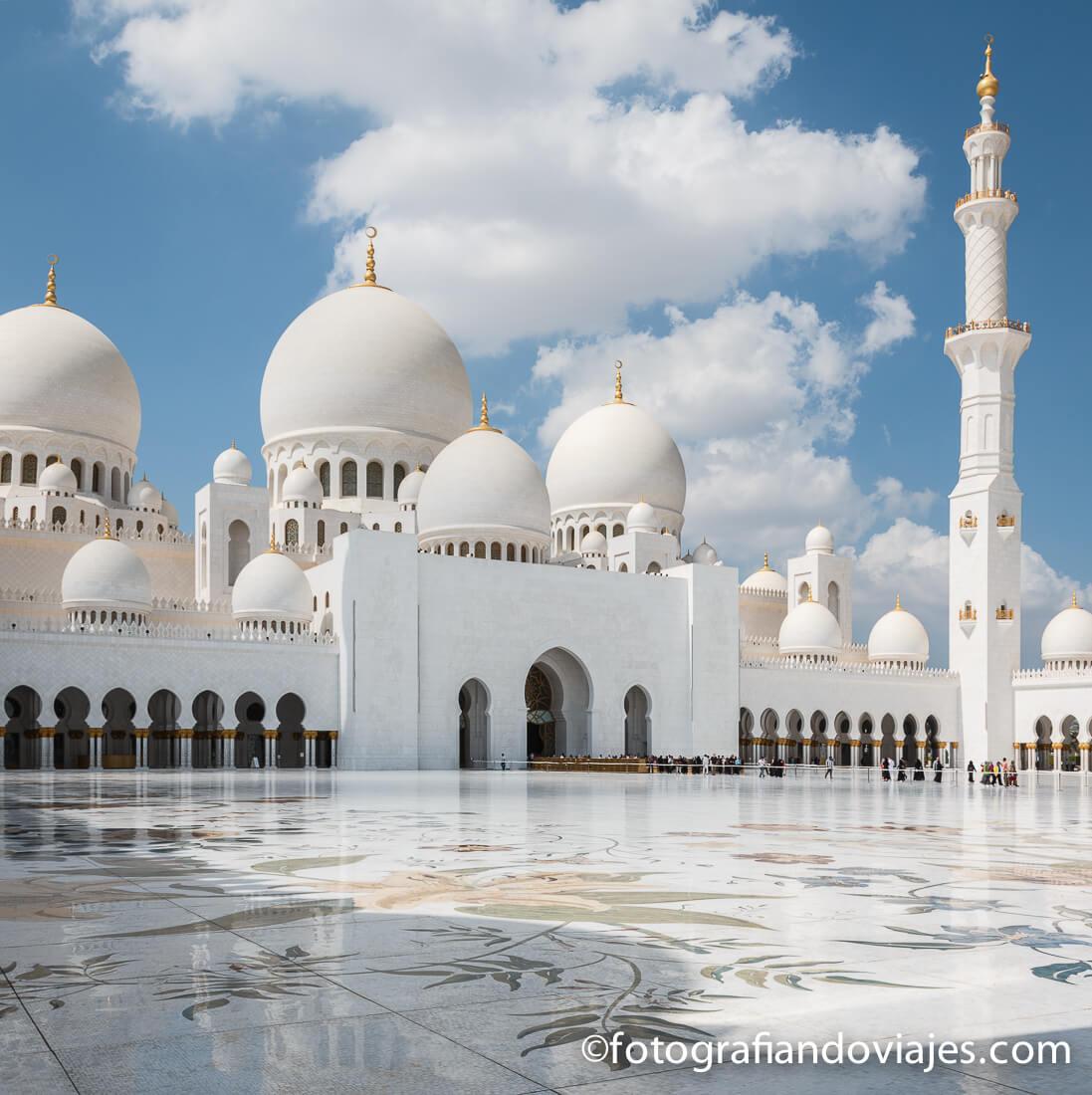 Gran mezquita Sheikh Zayed en Abu Dhabi