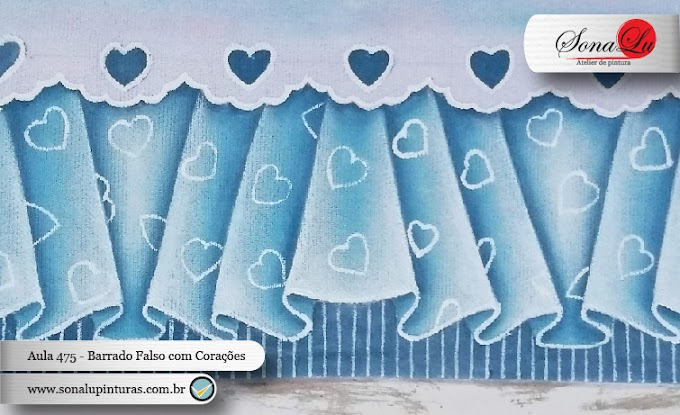 Aula 475 - Barrado Falso com Corações