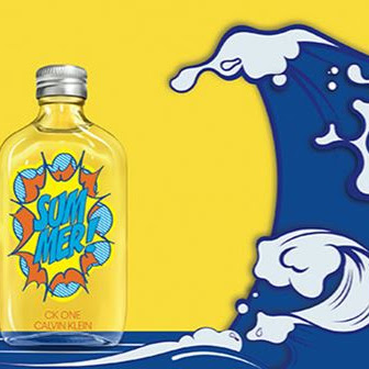 Frescura e pop art num perfume para este Verão.