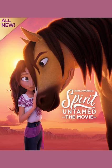 Spirit Untamed Animated Kids Horse Movie