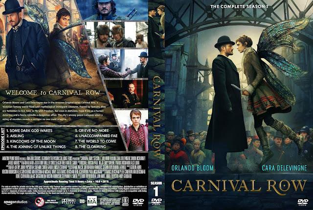 Carnival Row Season 1 DVD Cover