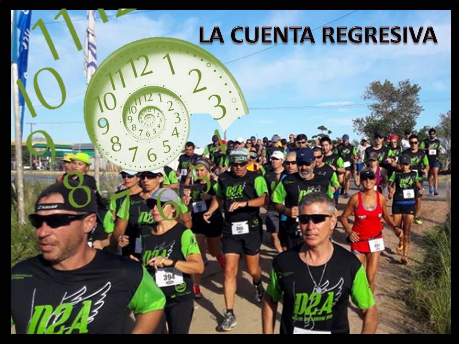 19k y 10k Desafío Dos Arroyos de Halcones (desde Arroyo Carrasco a Arroyo Pando, 2019)
