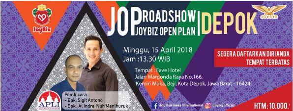 Presentasi JOP Perdana Joybiz di Depok