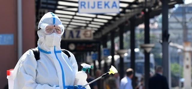 Tovább csökkent az új fertőzöttek száma Horvátországban és Szlovéniában