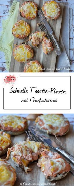 Experimente aus meiner Küche: Schnelle Toastie-Pizzen
