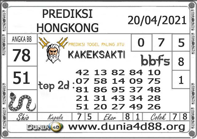 Prediksi Togel HONGKONG DUNIA4D 20 APRIL 2021
