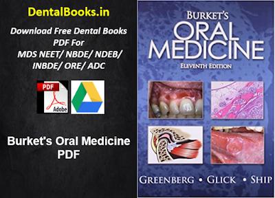 Burket's Oral Medicine PDF
