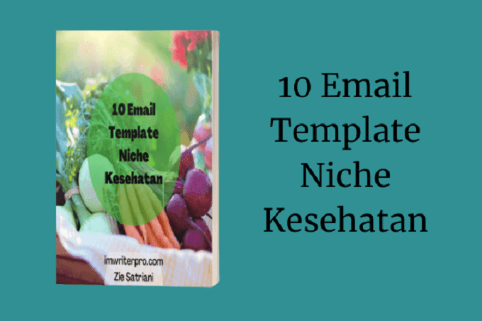 10 Email Template Niche Kesehatan