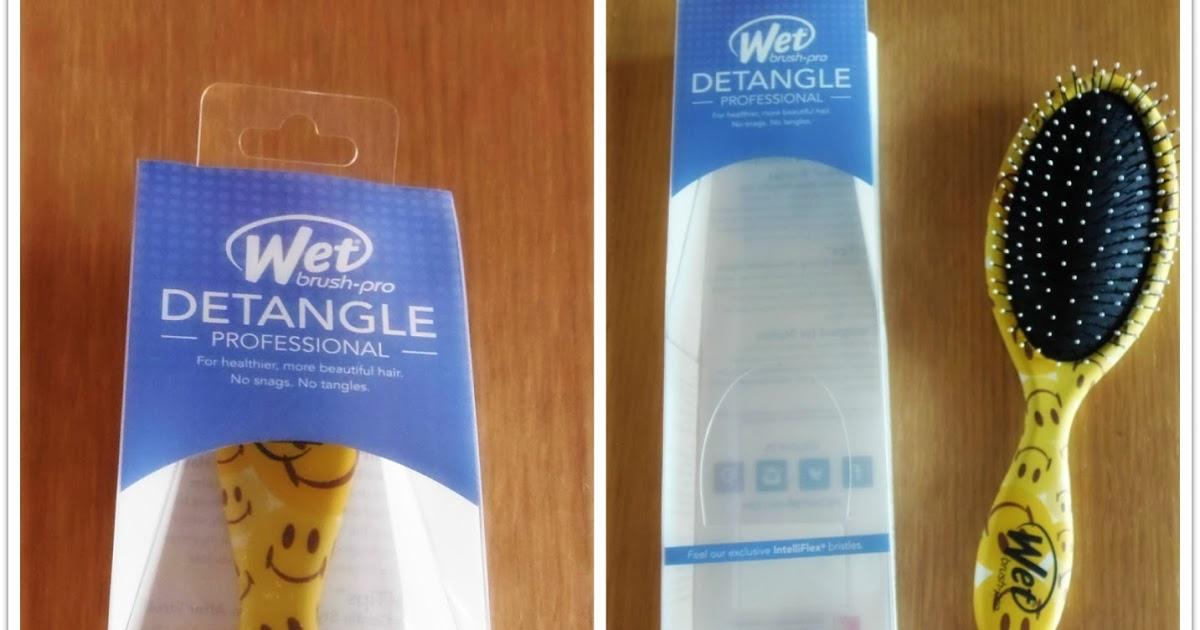 La mia nuova spazzola WetBrush