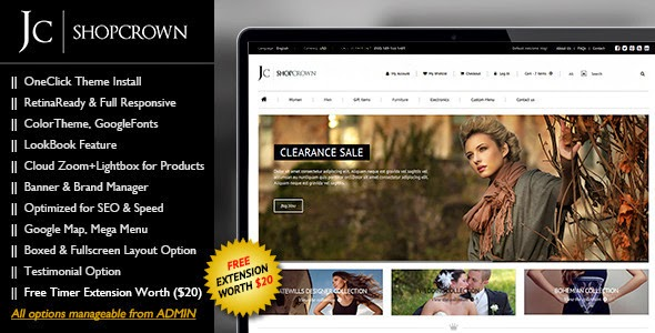 popular fashion store magento theme
