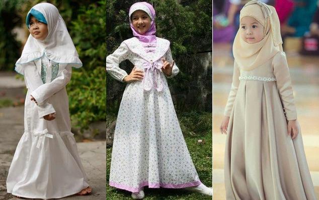 Cara Memilih Baju Anak Muslim yang Benar