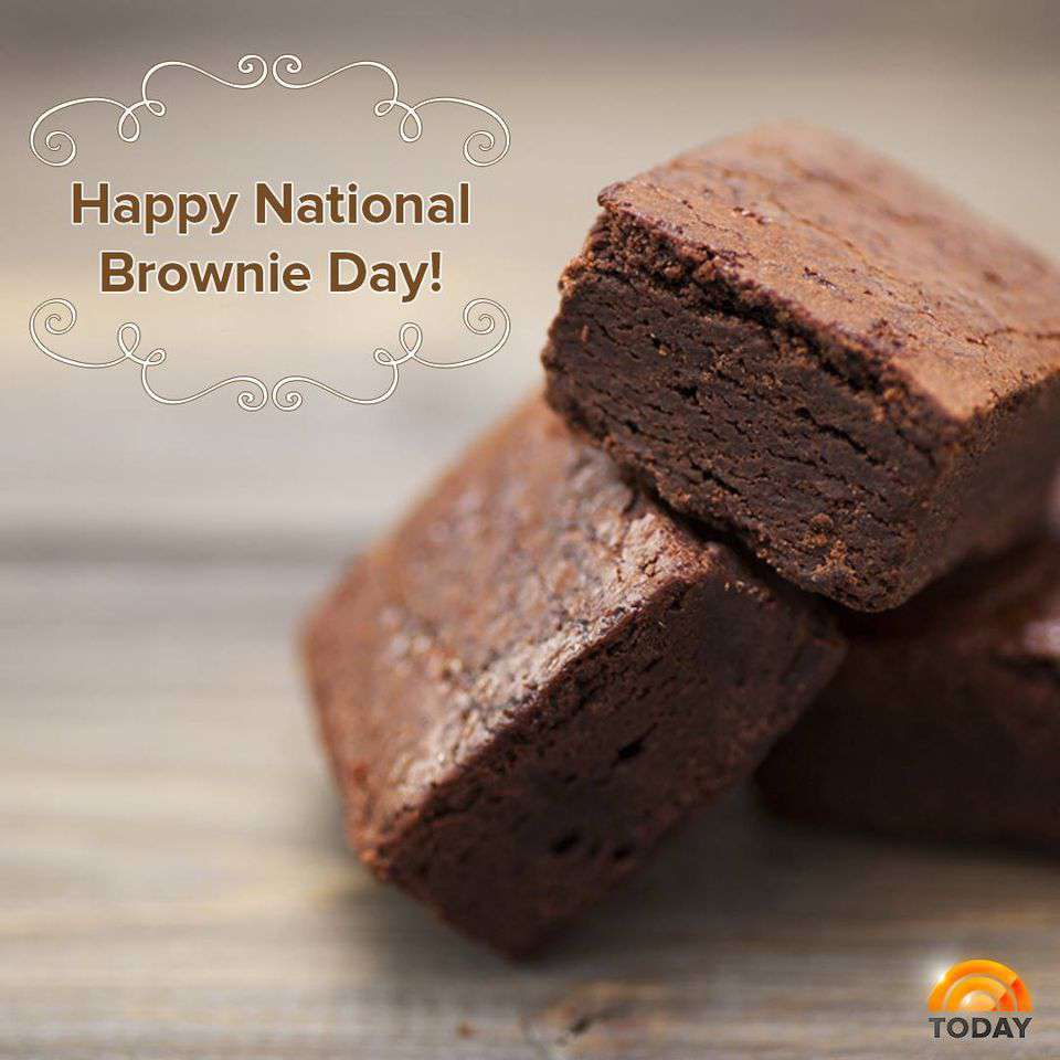 National Brownie Day Wishes Unique Image