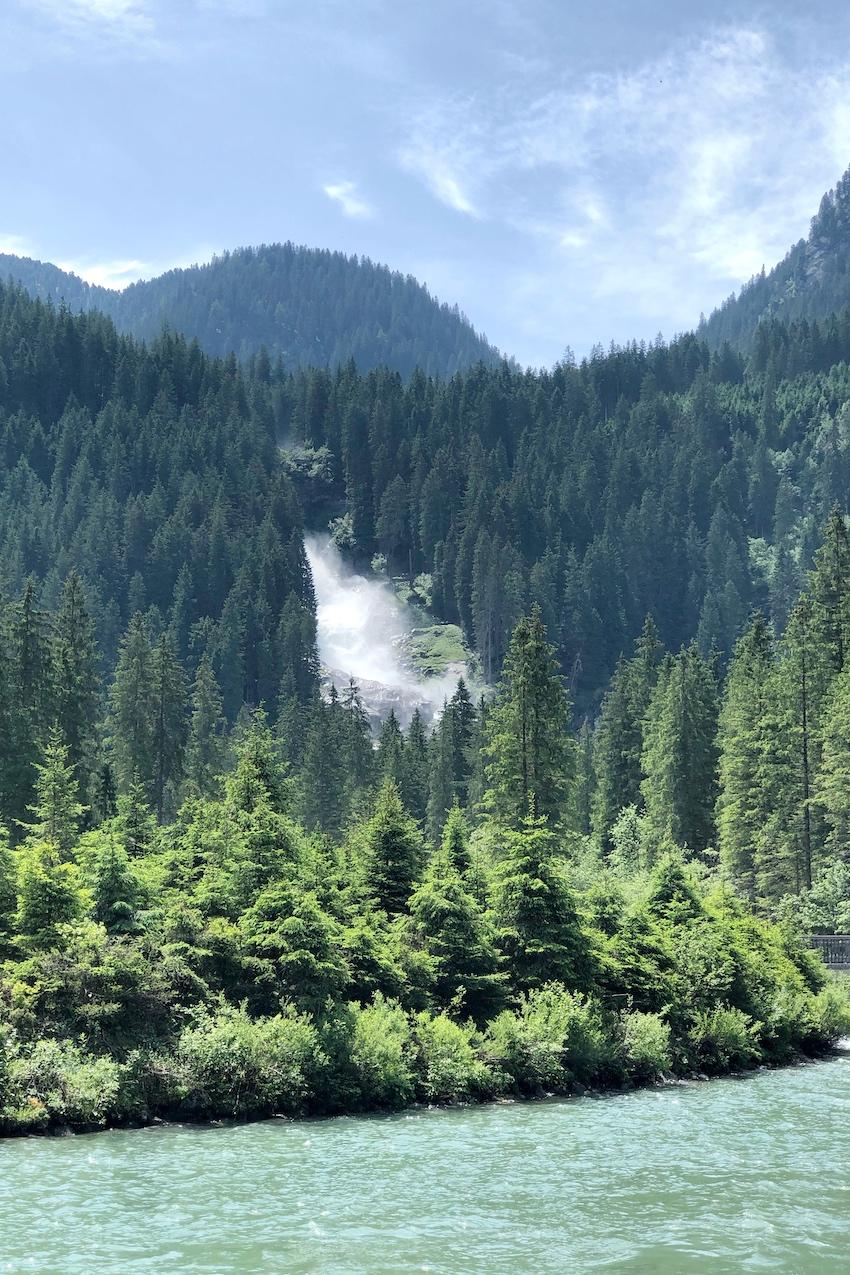 Wanderung zu den Kimmler Wasserfällen