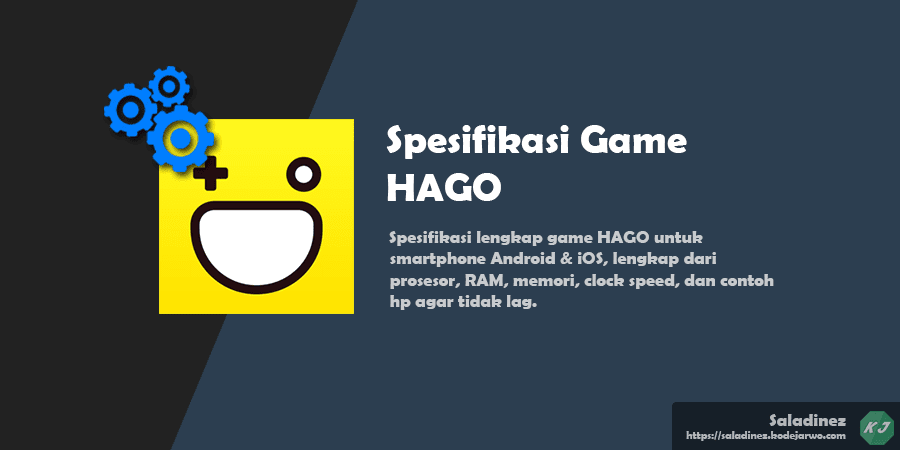 Spesifikasi Game: HAGO Android dan iOS