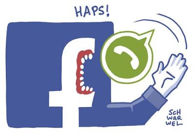 Facebook поглощает WhatsApp