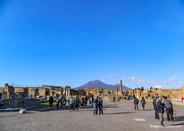 Fórum Romano de Pompeia