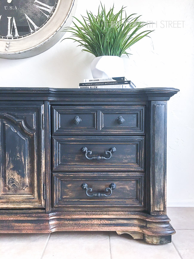 Balayage Inspired Diy Painted Furniture Thirty Eighth Street