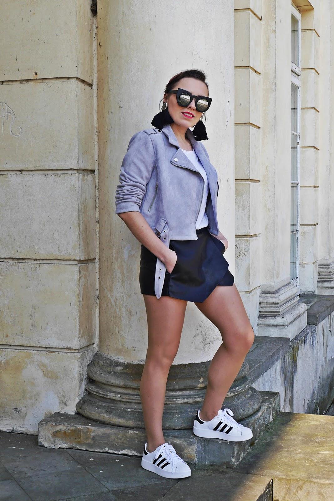 5_adidas_superstar_szara_ramoneska_asymetrczne_szorty_zara_karyn_blog_modowy_250318df