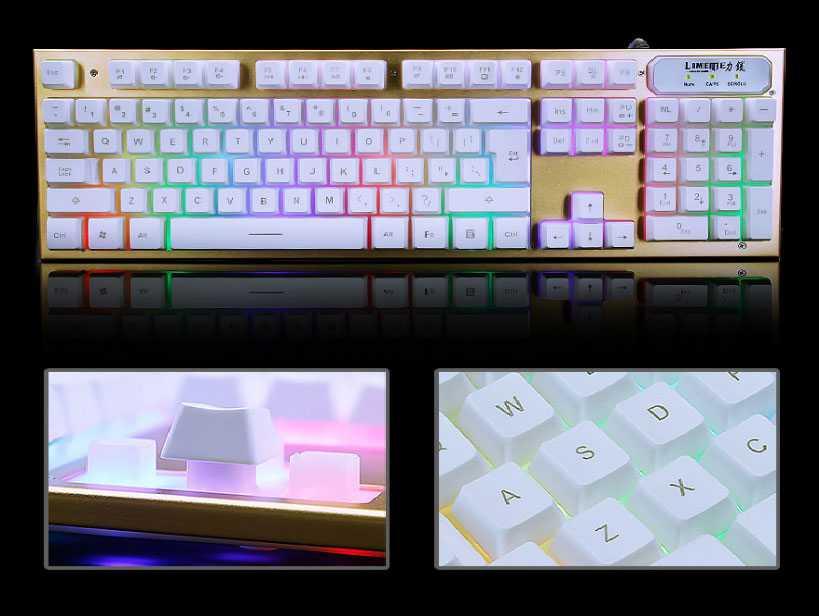 Bàn phím giả cơ chuyên game LIMEME TX30 giá sỉ
