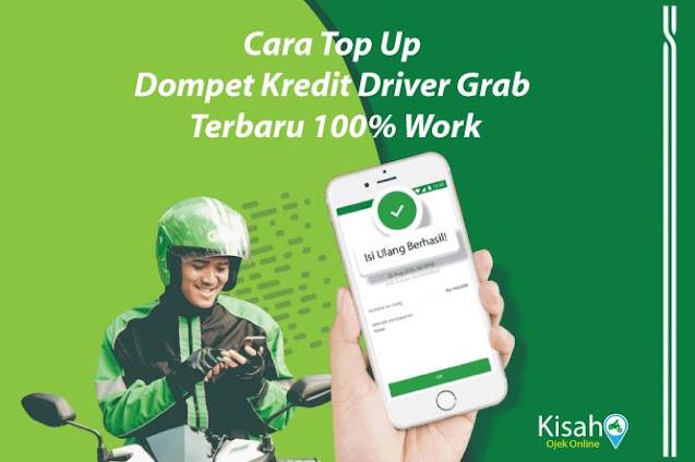 Cara Top Up Dompet Kredit Driver Grab Terbaru 100% Work