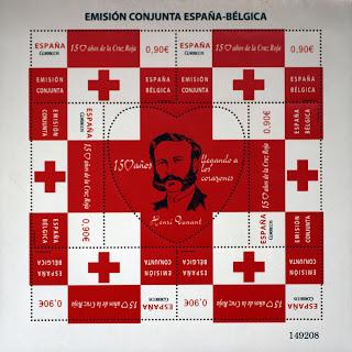 EMISIÓN CONJUNTA ESPAÑA - BÉLGICA