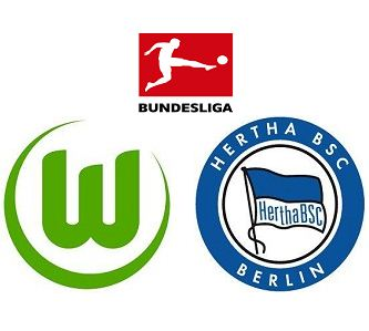 Wolfsburg vs Hertha Berlin match highlights
