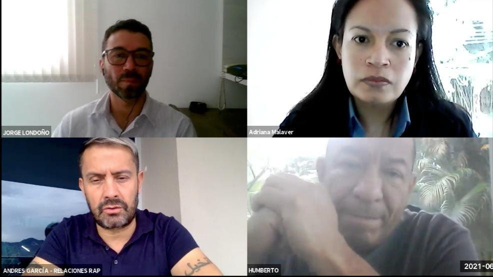 RAP Eje Cafetero se reúne con PNN de Colombia
