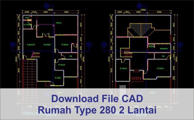 download Rumah Modern Type 280 2 Lantai