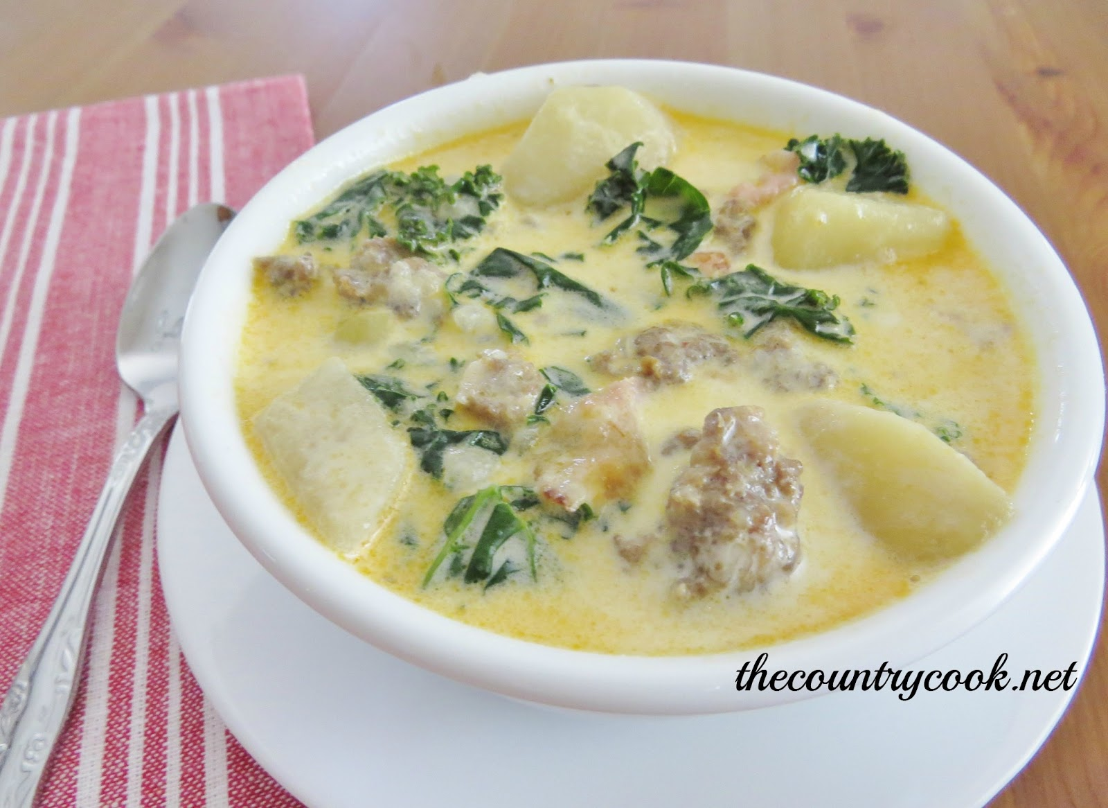 The country cook copycat olive garden zuppa toscana - Recipe for olive garden zuppa toscana ...