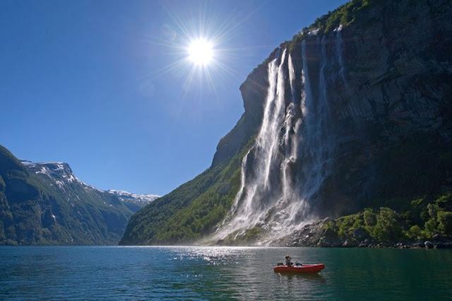 Geirangerfjorden, Norwegia
