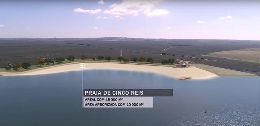 Praia de Cinco Reis