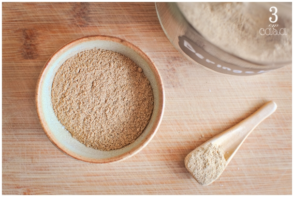 como usar farinha de berinjela