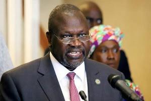 Riek Machar tested positive for coronavirus three weeks ago Riek Machar tested positive for coronavirus three weeks ago