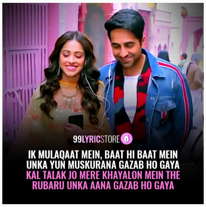 Ik Mulaqaat Hindi song from movie dream girl