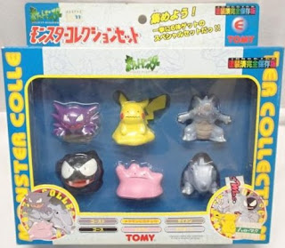Pokemon figure Tomy Monster Collection Set E