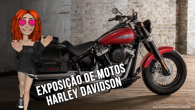 Exposição de motocicletas Harley-Davidson