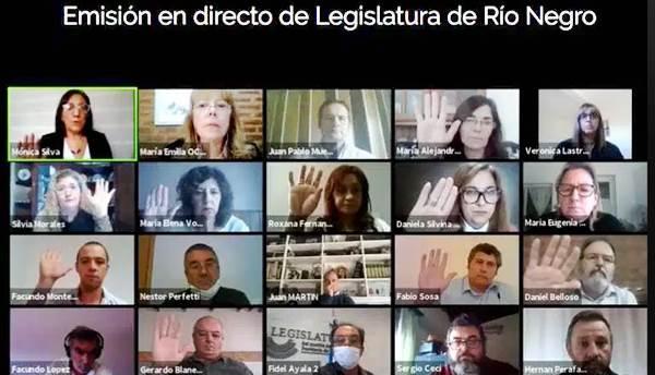 La Legislatura de Río Negro volvió a las actividades