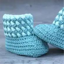 Botas de Bebé a Crochet