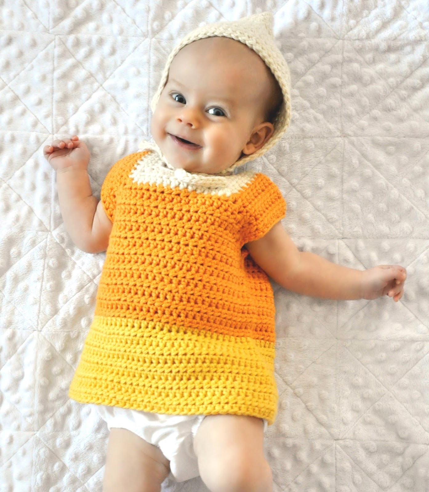 Photo Credit Pam Dajczak  sc 1 st  Ball Hank nu0027 Skein & Ball Hank nu0027 Skein: Free Pattern - Candy Corn Crochet Costume