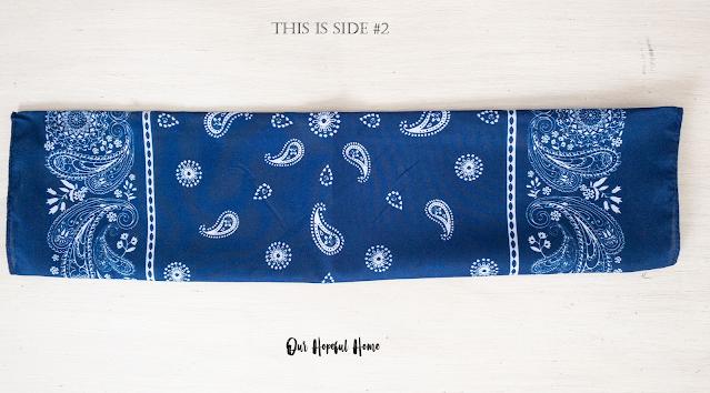 paisley pattern bandana