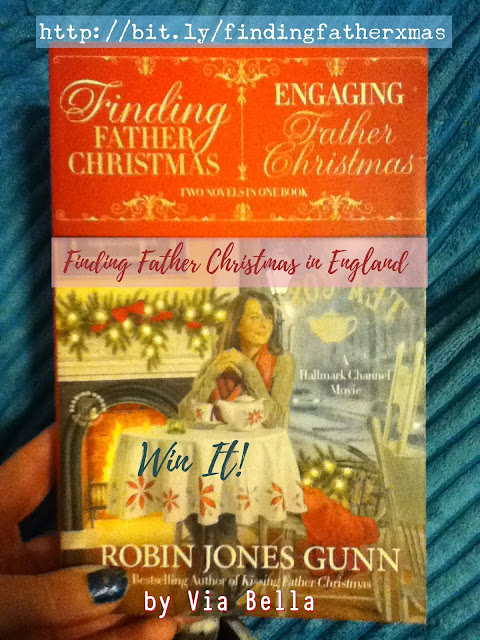 Finding Father Christmas in England (Win It), romance christmas books, finding long lost relatives during christmas books, finding family, family, christmas, Robin Jones Gunn, Faith Words publisher