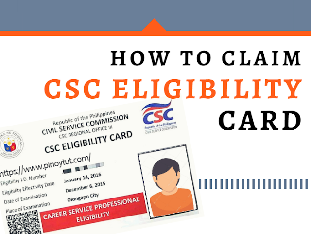 how to claim eligibility card