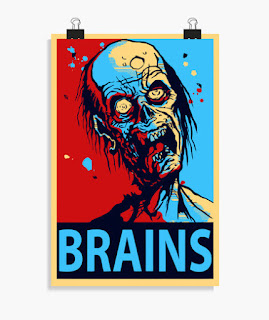 Cine, Terror, Zombie, Cerebro, poster, posters
