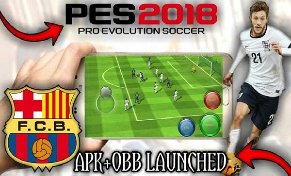 Download FTS Mod PES 2018 Apk Obb Data Game