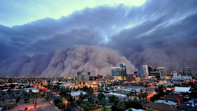image of dust storm