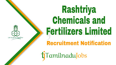 RCFL recruitment notification, govt jobs for graduate, govt jobs for 10th, govt jobs for graduate, RCFL recruitment notification 2020